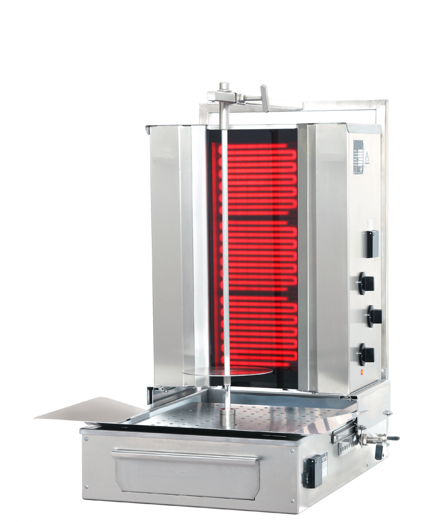 GFG 30 Electric Grill for Green Döner Kebab